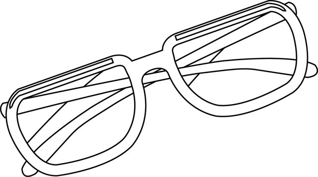 Image Gallery lunettes dessin