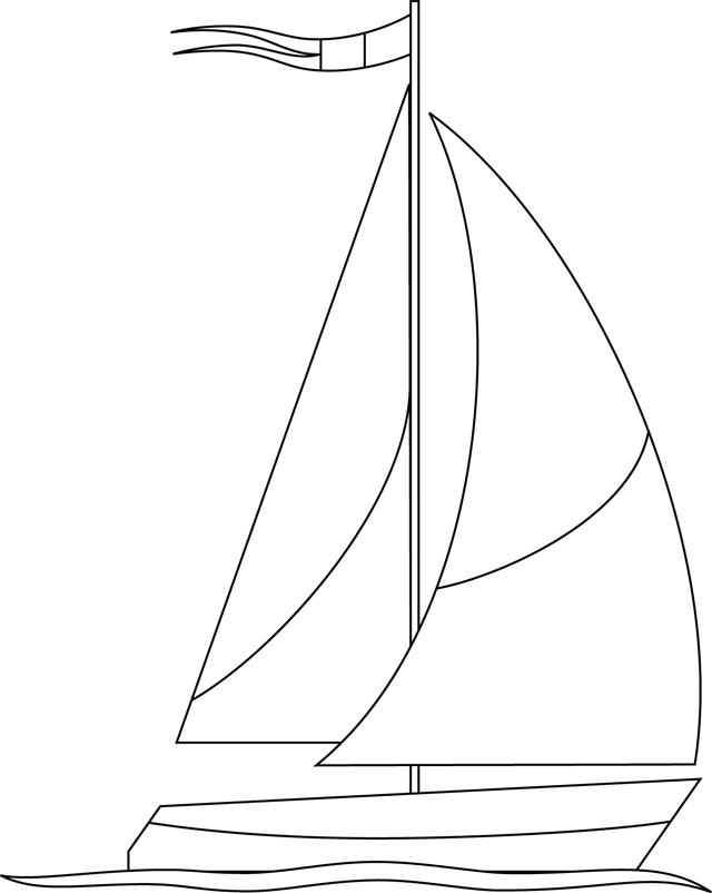 Un voilier tipirate - Voilier dessin ...