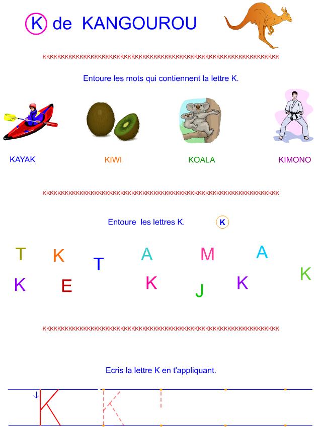 Lettre k en majuscule d 39 imprimerie tipirate - K en majuscule ...