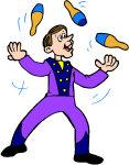 Imagier le cirque tipirate - Image jongleur cirque ...