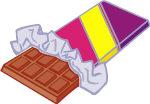 Imagier la nourriture tipirate - Dessin tablette chocolat ...