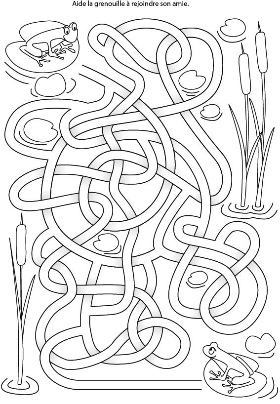 labyrinthe grenouille tipirate. Black Bedroom Furniture Sets. Home Design Ideas