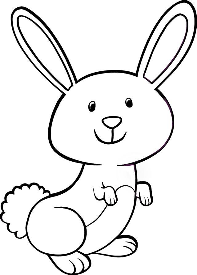Un lapin tipirate - Un lapin dessin ...