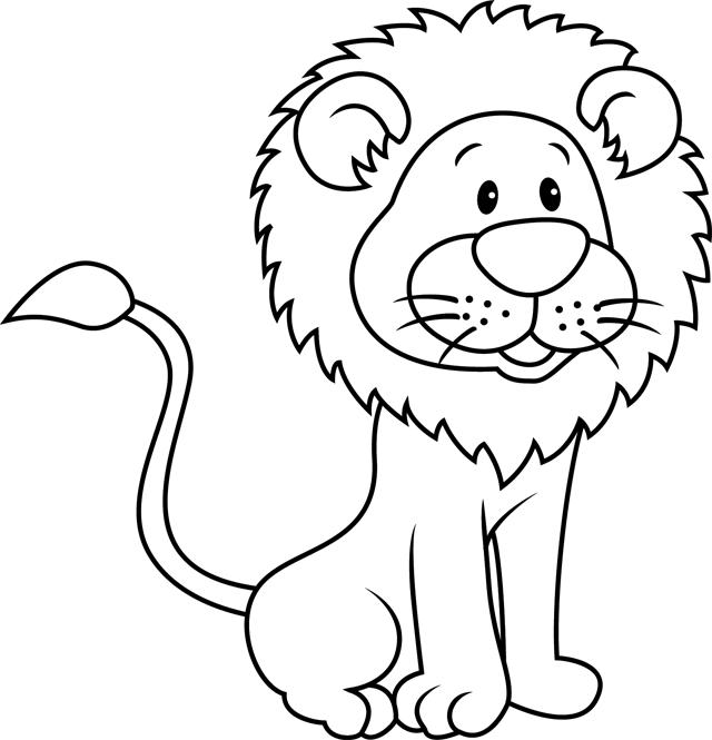Un lion - Tipirate