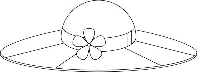 Coloriage Un Chapeau Dété Tipirate