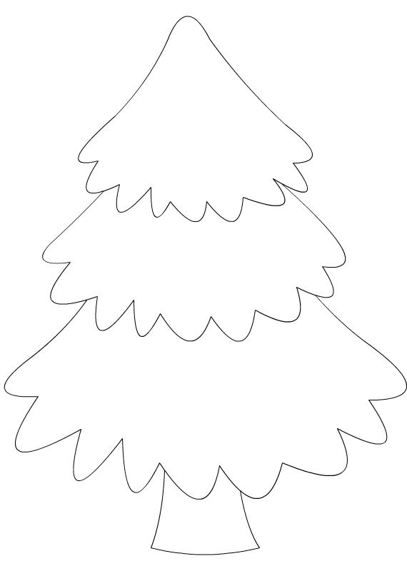 Dessin Sapin De Noel A Decorer
