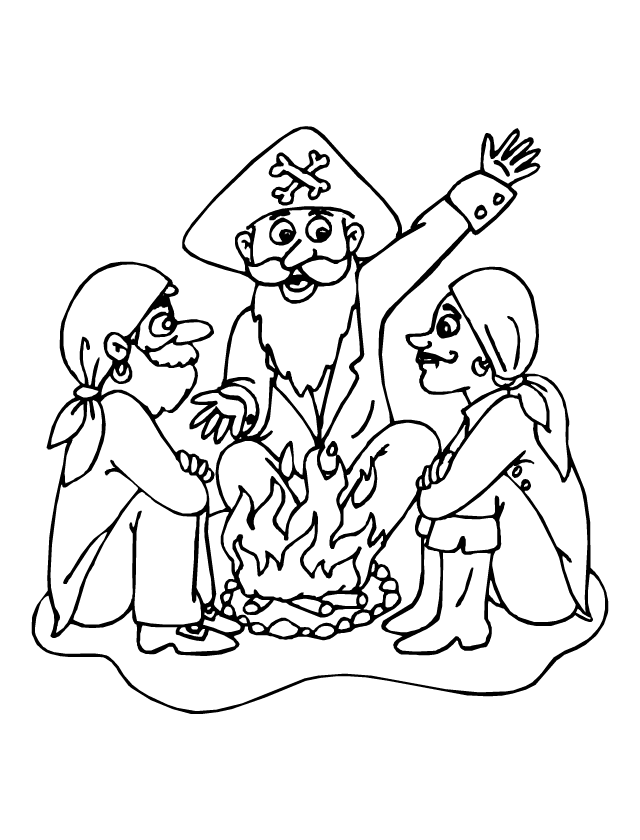 les pirates et le feu de bois tipirate. Black Bedroom Furniture Sets. Home Design Ideas