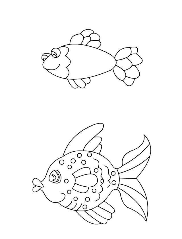 Dessin colorier les poissons tipirate - Dessin a colorier poisson d avril ...
