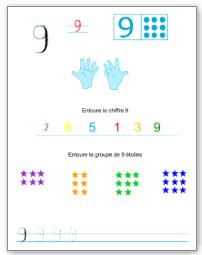 Top Apprendre à écrire les chiffres - Tipirate DN86