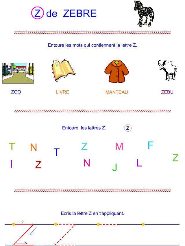 Lettre z en majuscule d 39 imprimerie tipirate - Z en majuscule ...