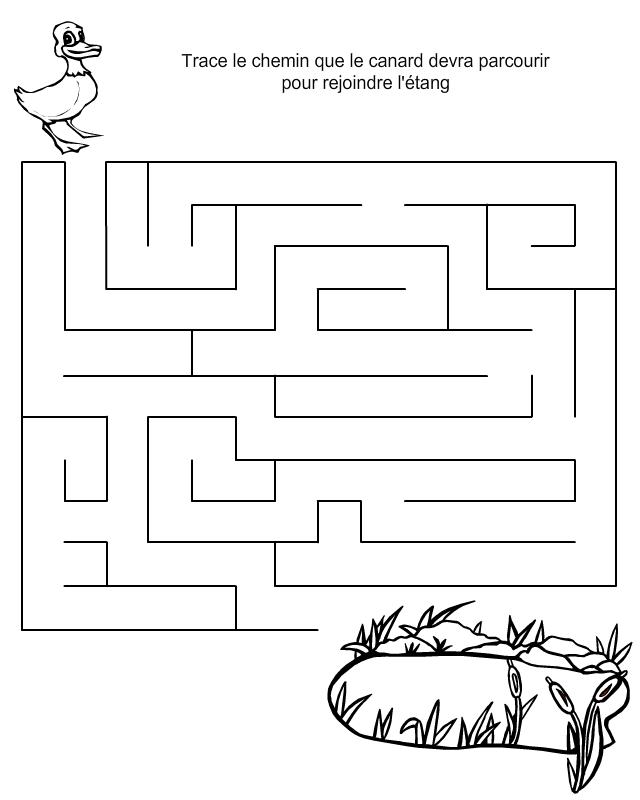 Labyrinthe gratuit imprimer tipirate - Labyrinthe a imprimer ...