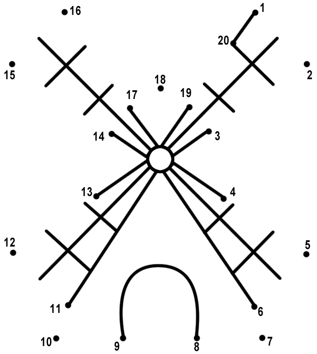 relier les points de 1 20 - Relier Les Points