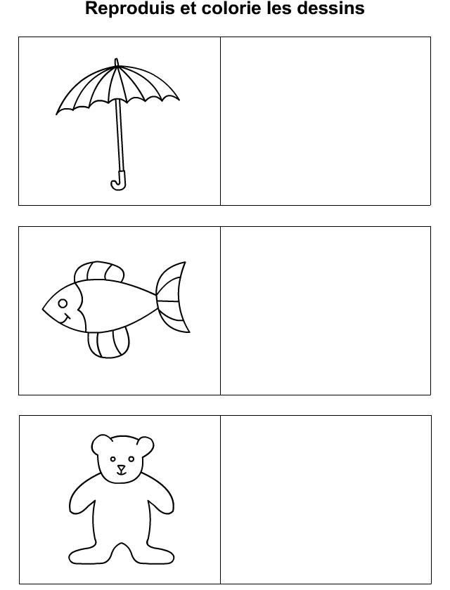Dessiner un parapluie un poisson un ours tipirate - Ours a dessiner ...