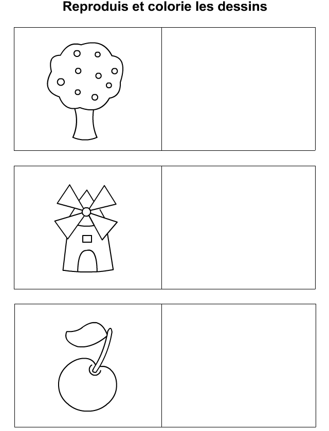 dessiner un arbre un moulin une pomme tipirate. Black Bedroom Furniture Sets. Home Design Ideas